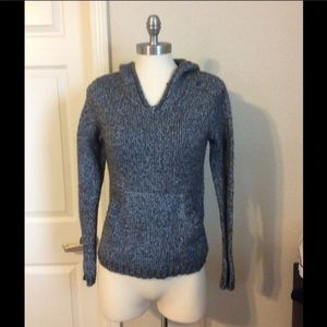 👀CO OPERATIVE HAND KNIT STYLE HOODED SWEATER👀